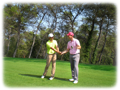 stage abordant l'approche mentale du golf