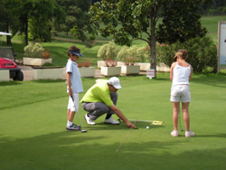 stage de golf enfants